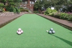 bocce-court