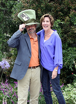 Rick & Suzanne as they take ownership of Jabberwock Inn in 2014