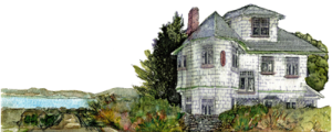 jabberwock inn signature image of home and ocean