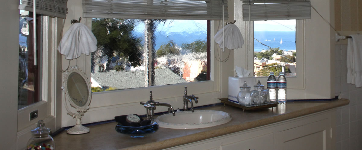monterey bay bed and breakfast room with ocean views