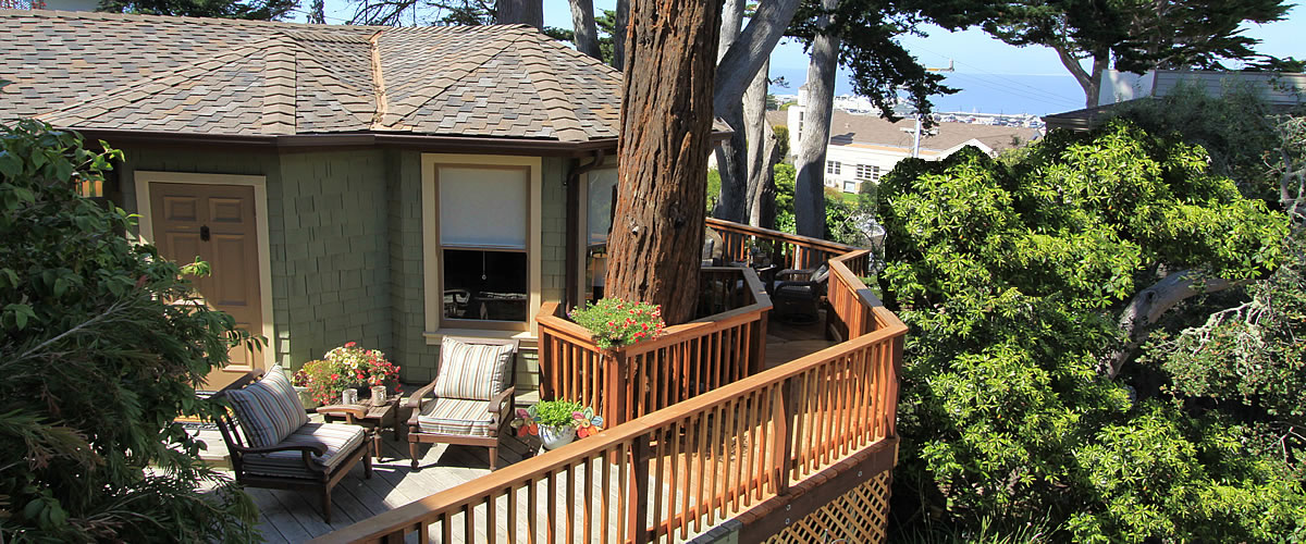 monterey bed and breakfast, tumtum tree cottage, exterior