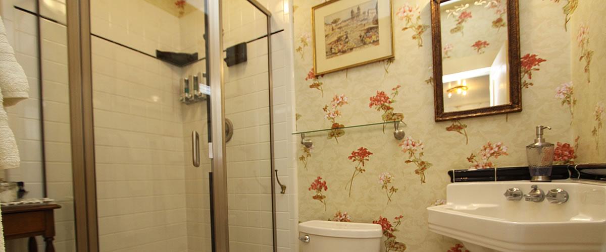 wabe bathroom at jabberwock inn monterey