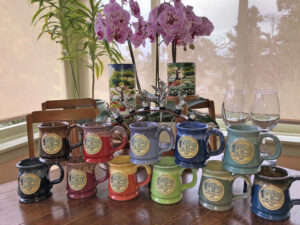 Jabberwock Inn handcrafted mugs