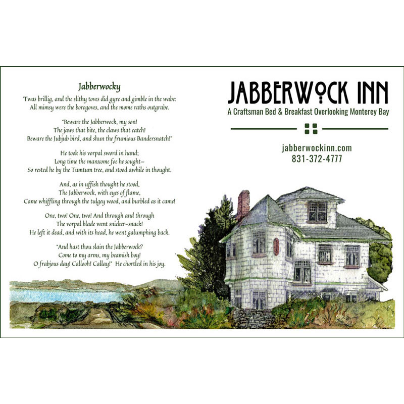 Jabberwock Recipe Cards