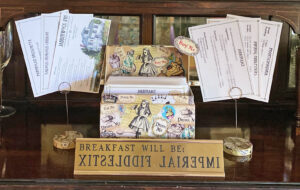 Jabberwock Inn Recipe Cards