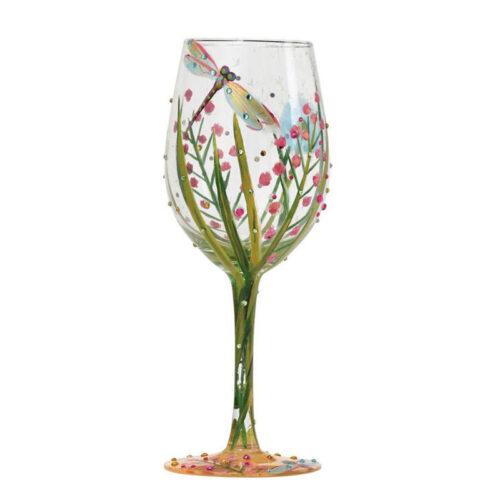 Dragonfly Wine Glass by Lolita