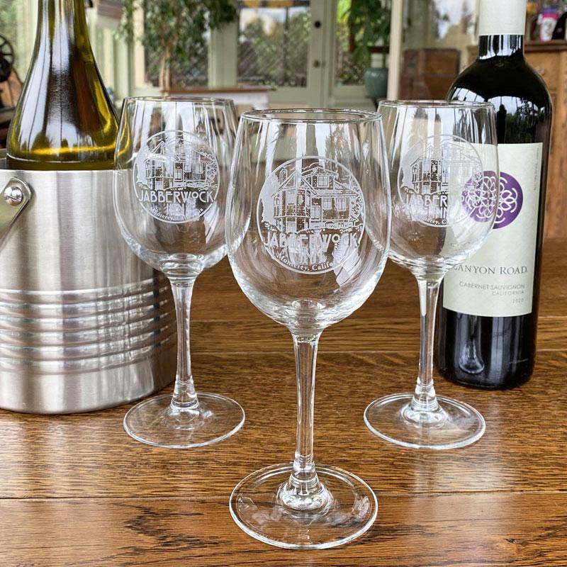 jabberwock wine glasses