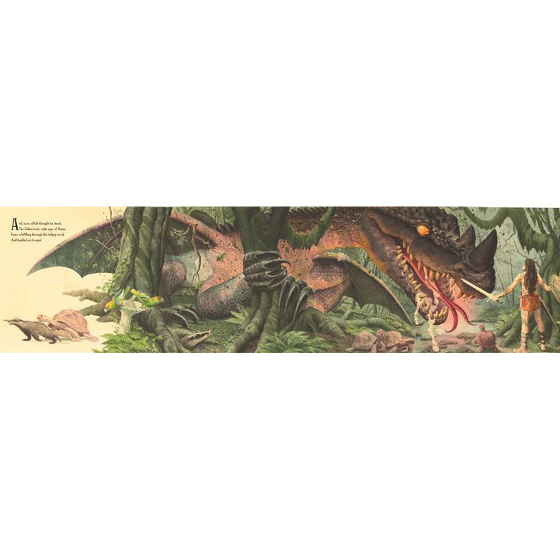 Jabberwocky, Illustrated by Charles Santore