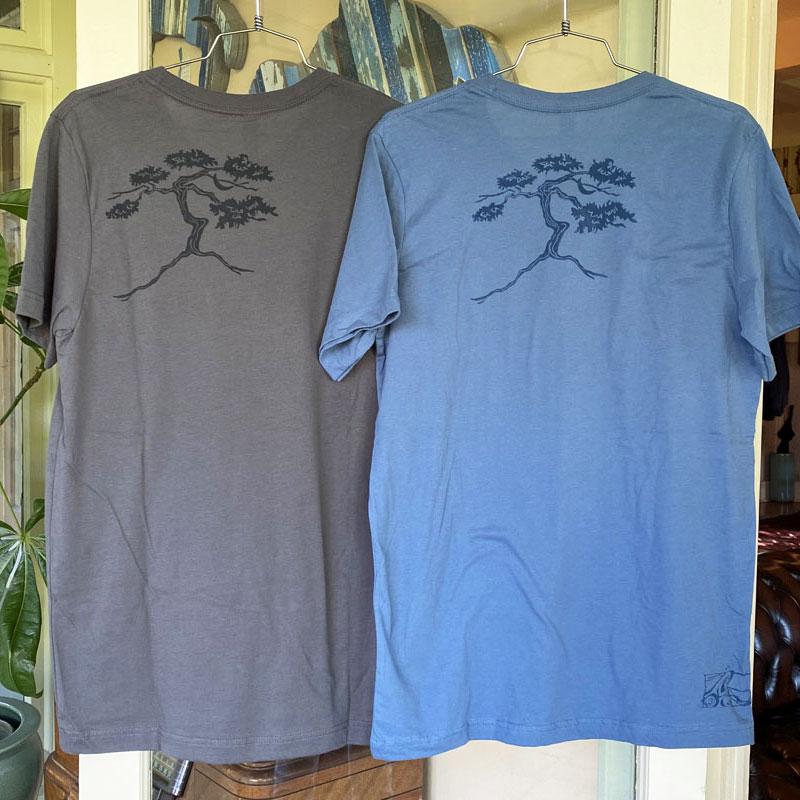 jabberwock tee shirt hanging with logo